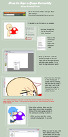 How to Use a Base on MS Paint by BlueBerryJellyBean