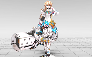 [MMD-Elsword] Chung Iron Paladin DOWNLOAD! by Darknessmagician