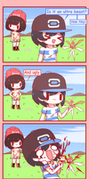 Comic of Alola - Stomp the flower