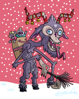 Krampus is coming to town by GarlicHERO