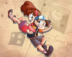 Gravity Falls by littledigits