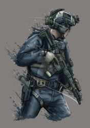 Blue Operator by ThomChen114