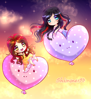 Chibi Pimmer Love by Shimmer5O