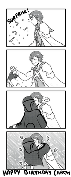 Happy Birthday Chrom by sirenlovesyou