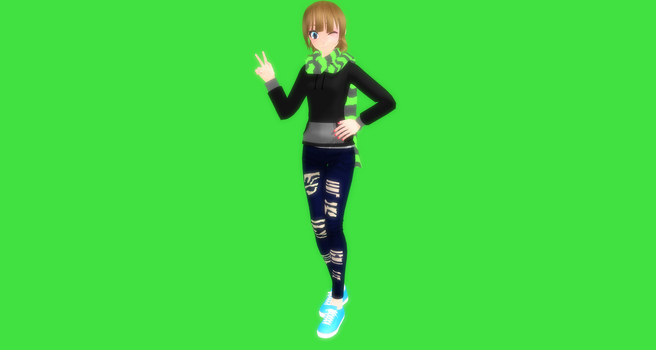 MMD Alexis by Vocaloidfan33