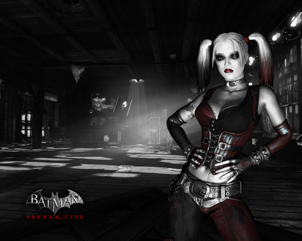 Harley Quinn by BatmanInc