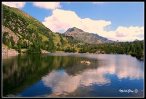 Lago e Pizzo del Becco by WelshGlue