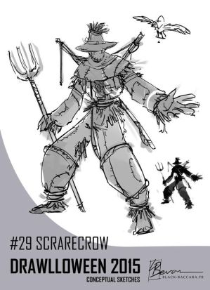 DH29 scarecrow by laurabevon by LauraBevon