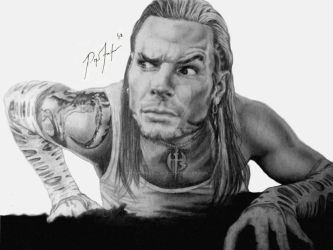 Jeff Hardy - Charismatic Enigma. by ThePissICallArt