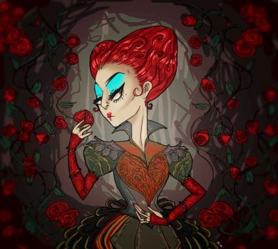 The Red Queen by inicka