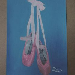 My Ballet Shoes by FlowerPhantom