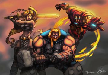 Ultimates by mike-bowden by GS-Dracko