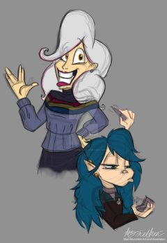 Maddy And Mary Star Trek by Mad--Munchkin