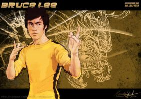 Bruce Lee by Deviant7521