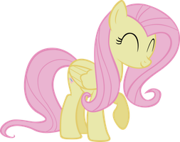Happy Fluttershy by sircinnamon