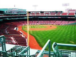 Boston: Fenway Park by Ghost-ish