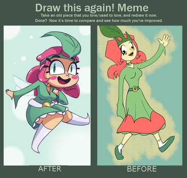 Princess Sunshine - Before After Meme by FrostDrive