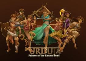 URDUJA: Princess of the Eastern Pearl by pikadiana