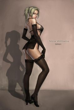 nina williams by neongun