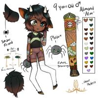 MYO Dainty: Almond by Yukishi-Adopts