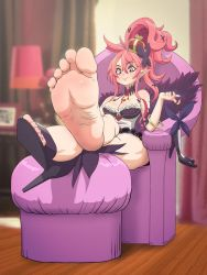 Commission Seraphina's feet by Einom