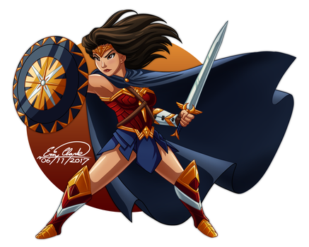 Wonder Woman by Sawuinhaff