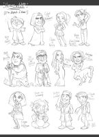 Heroes+HP_pencil by roby-boh