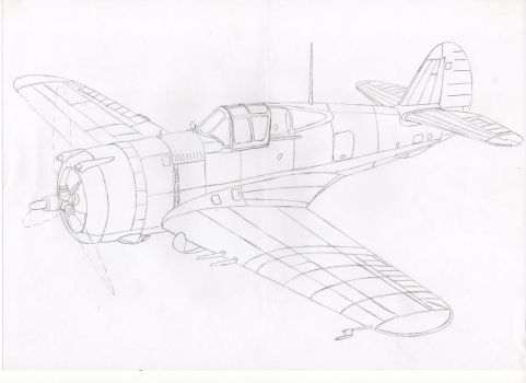 CURTISS H-75 French army air force by pier-olin