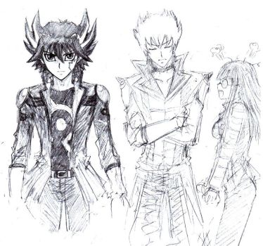 5Ds sketch by Lizeth