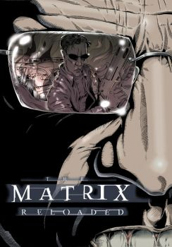 MATRIX RELOADED Neo vs Smith by wallace