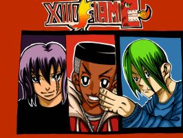 XIII Flame Front cover by Katsuro-Isao