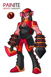 Gemsona Fusion- Painite by Darksilvania