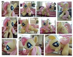 Fluttershy Plushie by ButtercupBabyPPG