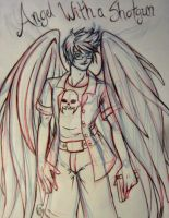 Jake English - Angel With A Shotgun by simple-minded-saul
