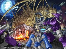 Unicron Attacks by 1DB