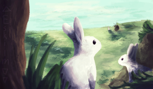 Bunny days by tokenfolly