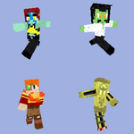 Custom Minecraft Skins by LegendaryFrog