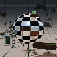 Sphere Chest : Marking of a Martini. by Shango-ThunderStones