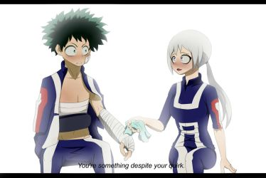 Your something despite your quirk by xKeyxx