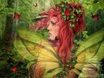 Wild Strawberry by babsartcreations