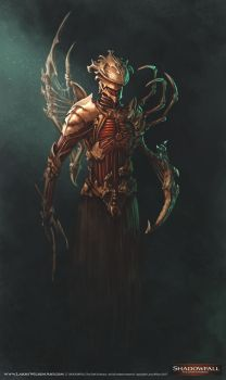 SHADOWFALL - Undead Inquisitor by LarryWilson