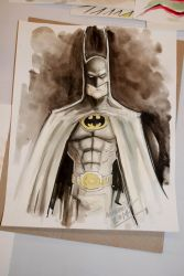 The Caped Crusader by Noumier