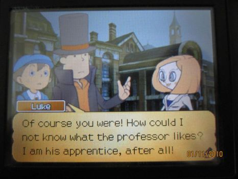 Luke knows what Layton likes by Holly951