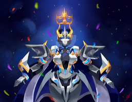 Princess of Knights Of Cybertron by LillinApocalypse