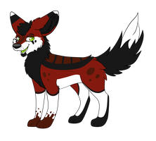 Red Canine Adopt - Open by xRubyCayx