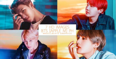 BTS [Apple Music] Photopack by AngellBeats
