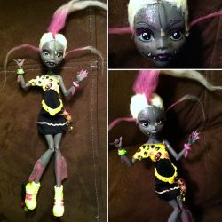 Monster High Custom: Angie Angler by TerribleToadQueen