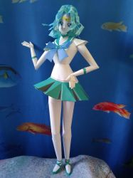 Sailor Neptune papercraft by Amber2002161