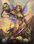 The Savage Sword of Josara The Fairy! by StalinDC