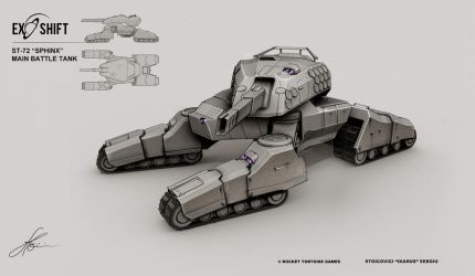 ST-72 MBT - Sphinx by ikarus-tm